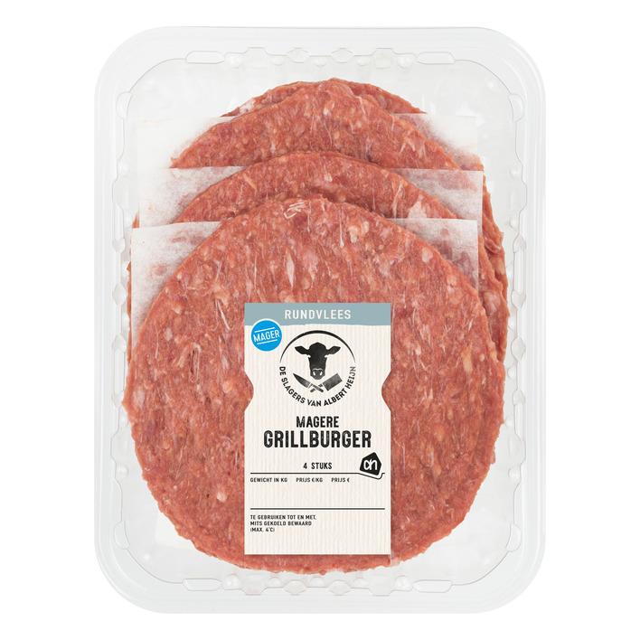 Huismerk Magere grillburger