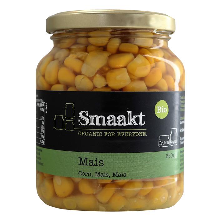 Smaakt Mais biologisch