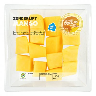 Huismerk Zongerijpte mango stukjes