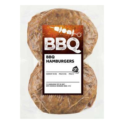 Huismerk BBQ hamburgers vacuüm