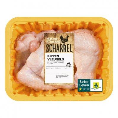 Huismerk Scharrel kippenvleugels