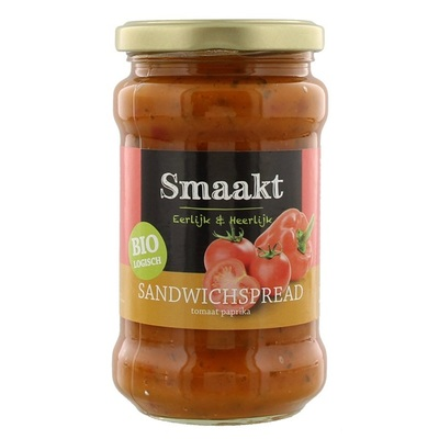 Smaakt Bio Spread Tomaat - Paprika