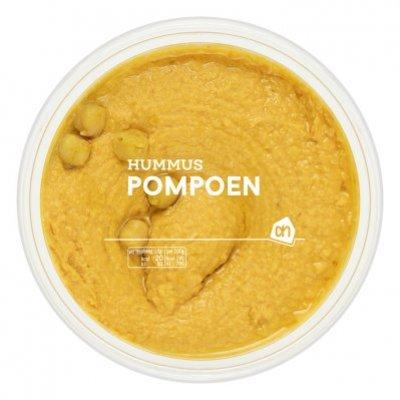 Huismerk Zoete pompoenhummus