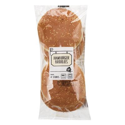 Huismerk Hamburgerbroodjes
