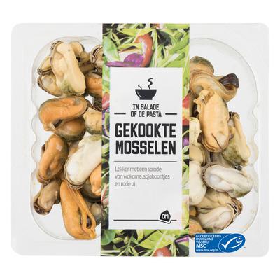 Huismerk Vers gekookt nl mosselvlees