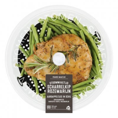 Huismerk Stoommaaltijd kip-rozemarijn