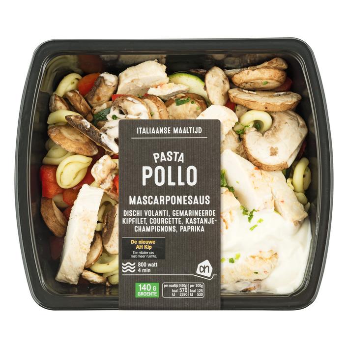 Huismerk Verse pasta pollo
