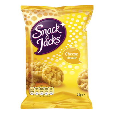 Snack a Jacks Crispy cheese