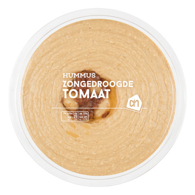 Huismerk Hummus zongedroogde tomaat