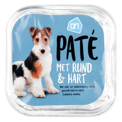 Huismerk Paté rund-hart (voor de hond)