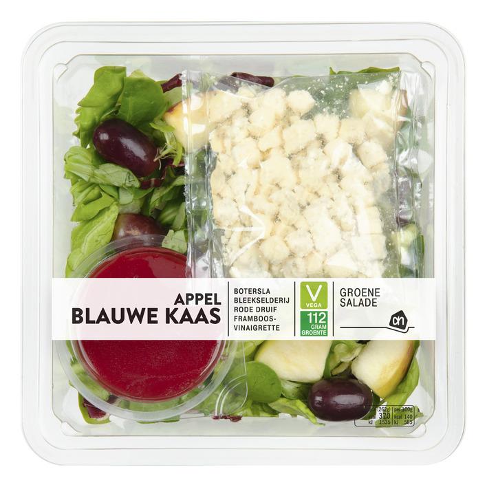 Huismerk Groene salade blauwe kaas-appel