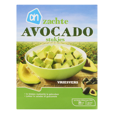 Huismerk Zachte avocado stukjes