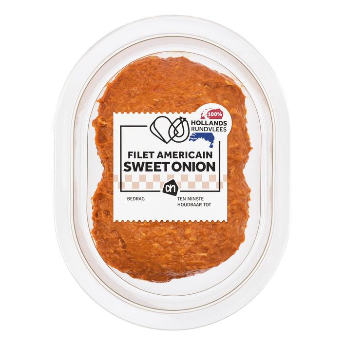 Huismerk Filet americain sweet onion