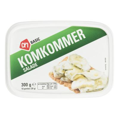 Budget Huismerk Komkommer salade