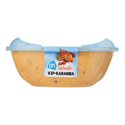 Huismerk Pittige kip-karamba salade