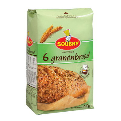 Soubry Mix 6 granen brood