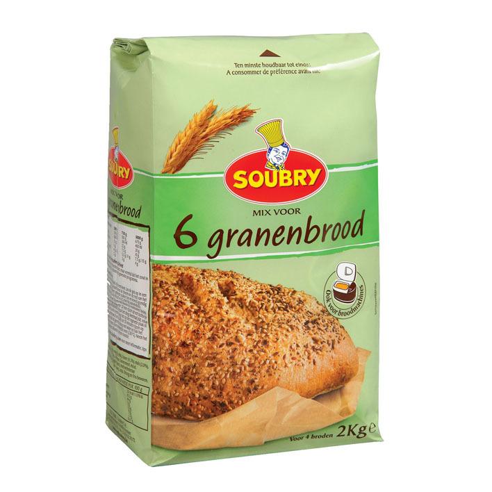 Soubry Mix 6 granen brood
