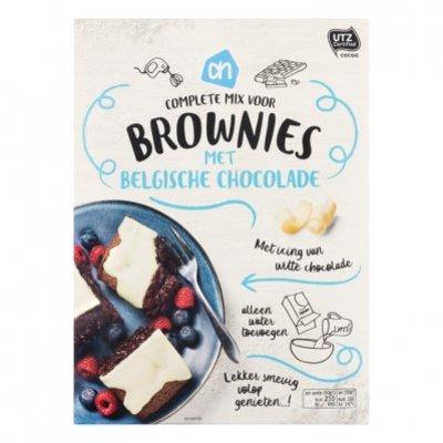 Huismerk Complete mix voor brownies witte chocola