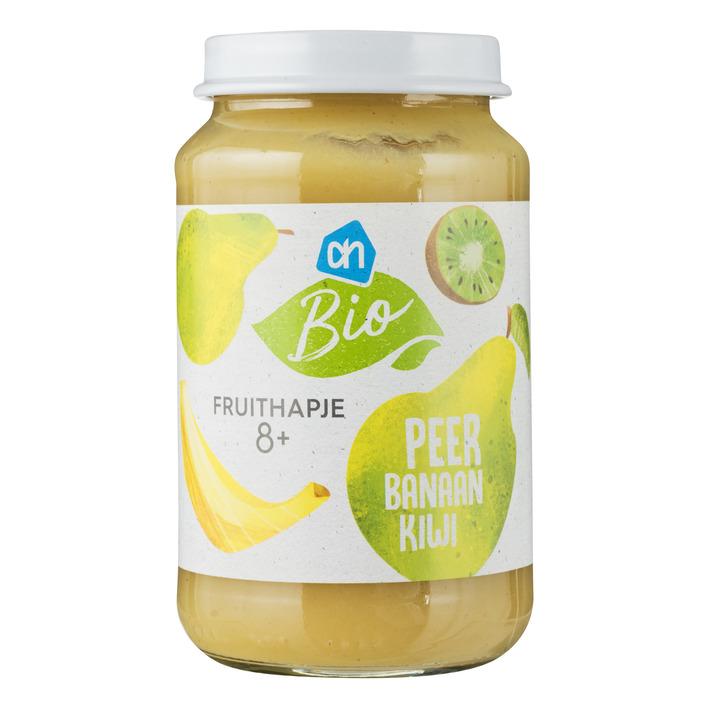 Huismerk Biologisch Fruithapje peer-kiwi-banaan 8m