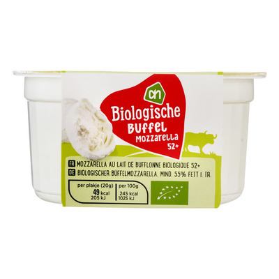Huismerk Biologisch Buffelmozzarella 52+