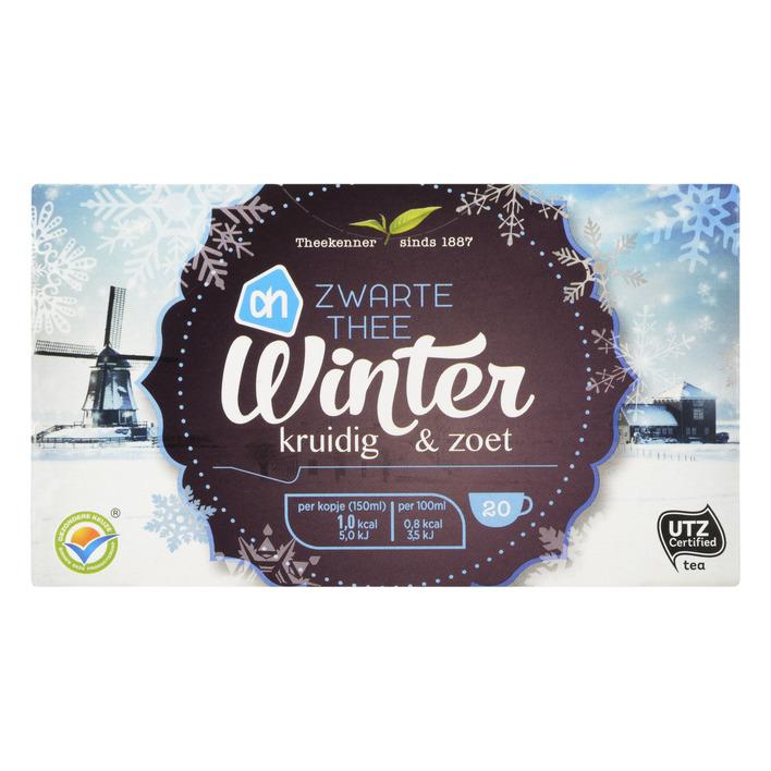 Huismerk Zwarte thee winter kruidig & zoet