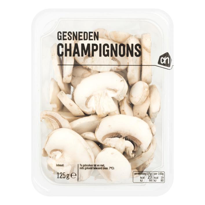 Huismerk Kleintje gesneden champignons