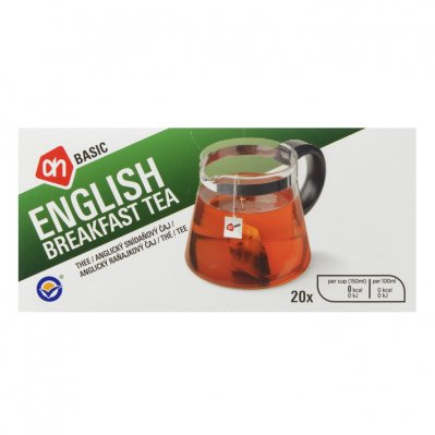 Budget Huismerk English breakfast tea