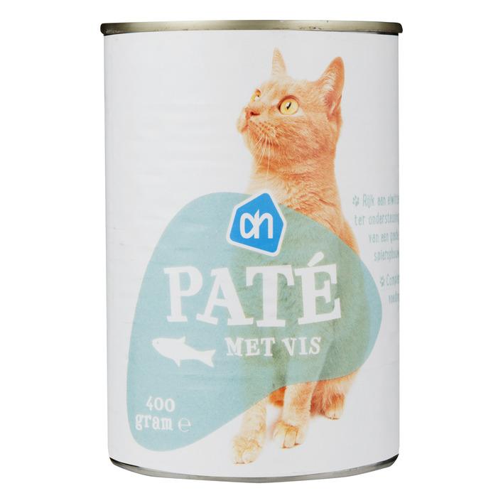 Huismerk Paté vis (voor de kat)
