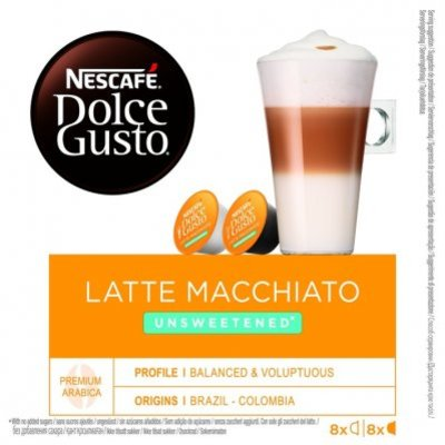 Nescafé Dolce Gusto Latte macchiato unsweetened koffie cups