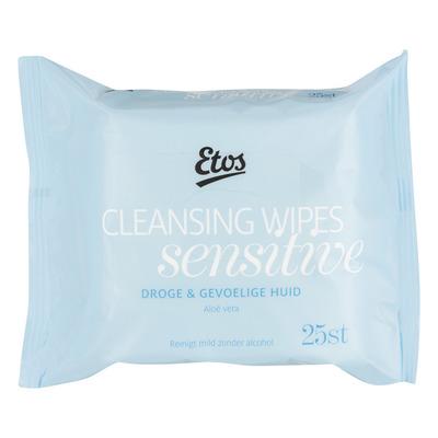 Huismerk Reinigingsdoekjes droge/gevoelige huid