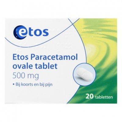 Huismerk Paracetamol ovale tabletten 500 mg