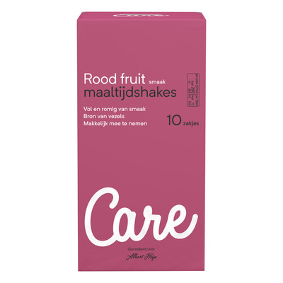 Care Maaltijdshake rood fruit