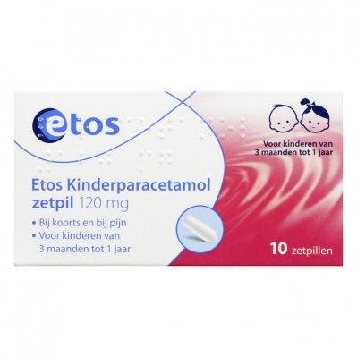 Huismerk Kinderparacetamol zetpillen 120 mg