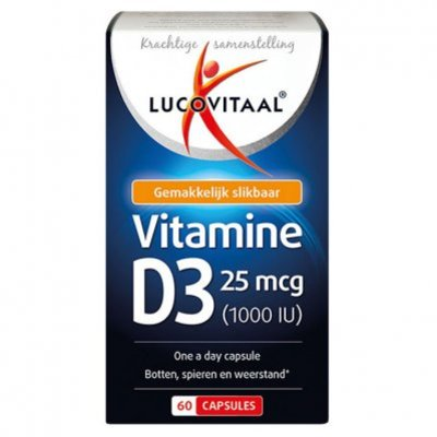 Lucovitaal Vitamine D3 25 mcg (1000 IU)