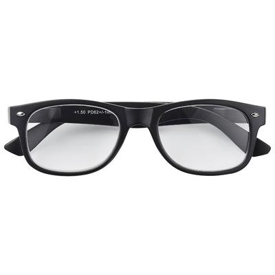 Huismerk Leesbril mat zwart +1,5