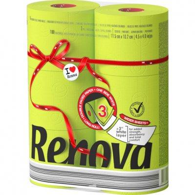 Renova Toiletpapier groen 3-laags