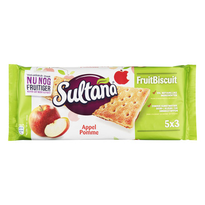 Sultana Fruitbiscuit appel