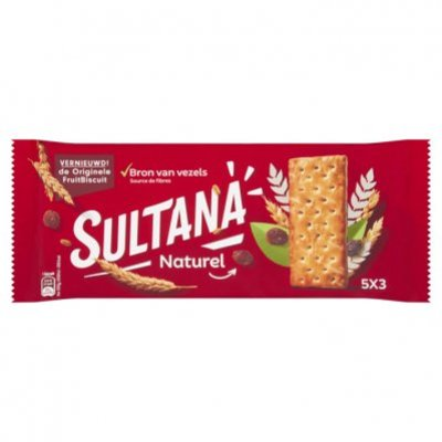 Sultana Fruitbiscuit naturel