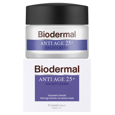 Biodermal Anti-age 25+ nachtcrème