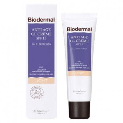 Biodermal Anti-age CC crème -  licht