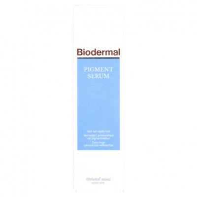 Biodermal Pigmentserum dag & nacht