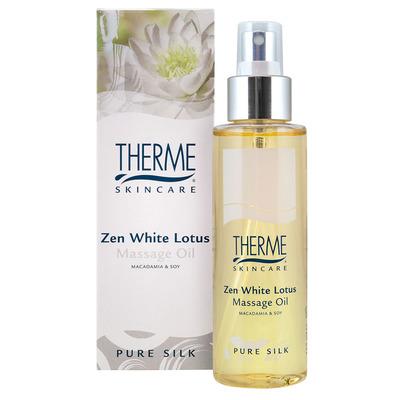 Therme Massage oil zen white lotus