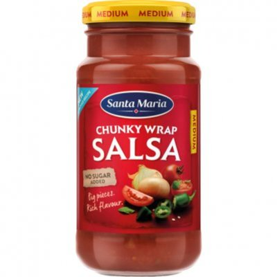 Santa Maria Chunky wrap salsa medium