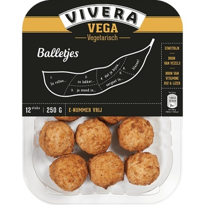 Vivera vegetarische balletjes