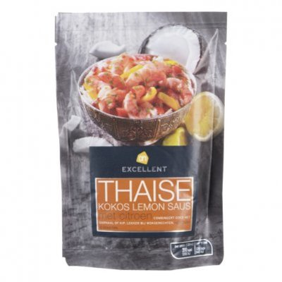 Huismerk Thaise kokos lemon saus