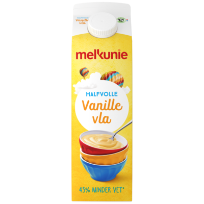Melkunie Halfvolle vanille yoghurt
