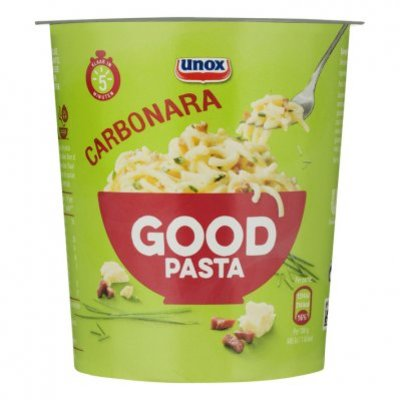 Unox Good pasta carbonara