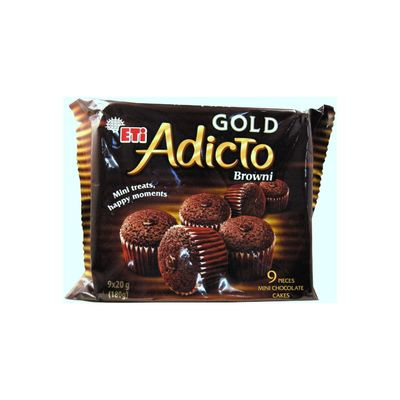 Adicto Brownie Gold