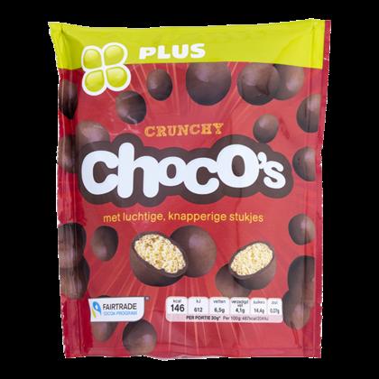 Huismerk Chocolade Choco's crunchy Fairtrade