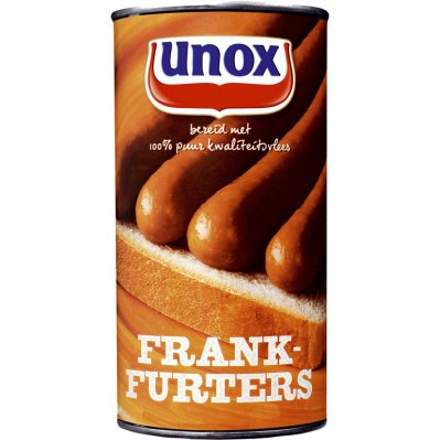 Unox Blik frankfurters